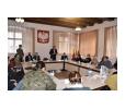 Burmistrz, sołtysi i radni na spotkaniu