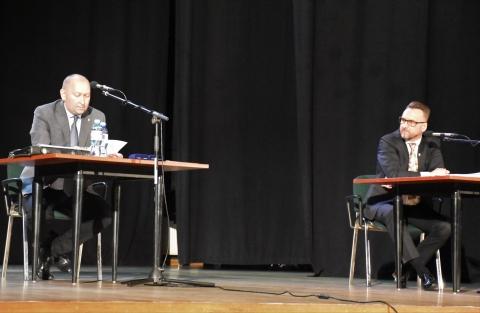 Przewodniczący Rady Miejskiej oraz Burmistrz Lubska
