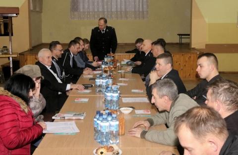 Zebranie sprawozdawcze w OSP Górzyn