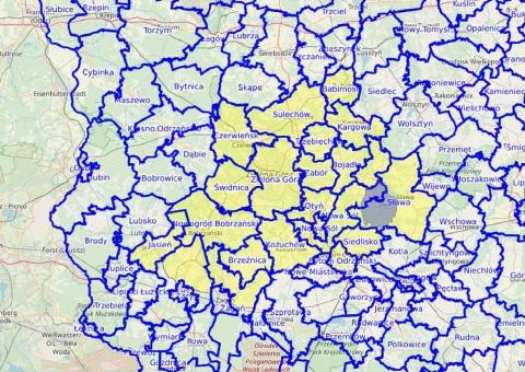 ASF - obszar skażony w powiecie żarskim