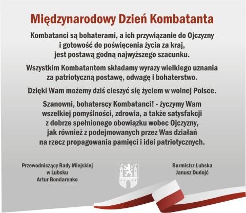 Międzynarodowy Dzień Kombatanta