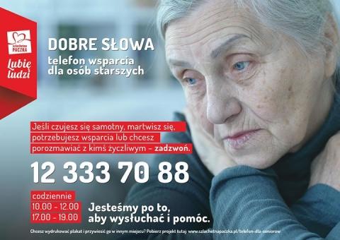 Telefon wsparcia dla osób starszych 22 333 70 88