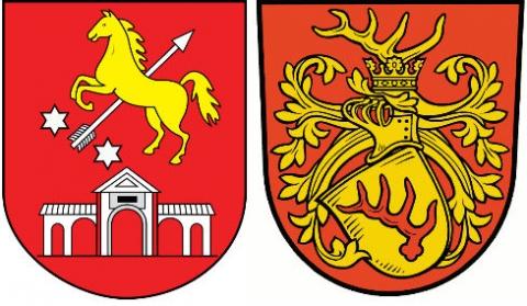 Herb Brodów i Herb Forst(L.)