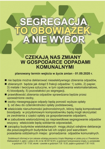 Czekają nas zmiany w gospodarce odpadami komunalnymi