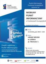 Mobilny Punkt Informacyjny Funduszy Europejskich w Lubsku