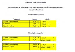 Gmina Lubsko uruchamia przewozy PKS w okresie wakacyjnym