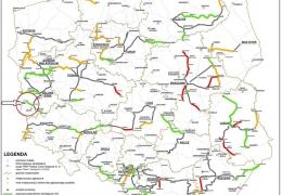 Mapa projektów zakwalifikowanych do II etapu