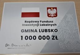 1 mln zł dla Gminy Lubsko na wodociąg w ul. Poznańskiej!