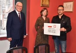 Poseł J. Kurzępa, Skarbnik Gminy, Burmistrz Lubska