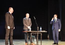 Nowy dyrektor LDK Paweł Skrzypczyński, Przewodniczący Rady Miejskiej, Burmistrz