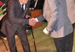 Burmistrz oraz Pan Stanisław Czahajda