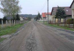 Remont drogi w Górzynie