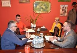 Rozmowy nt planowanych inwestycji na strefie przemysłowej w Górzynie