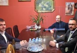 spotkanie Burmistrza z inwestorem parky handlowego