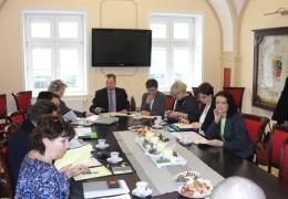 """Spotkanie robocze dotyczące projektu """"Bez granic"""""""
