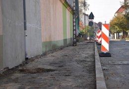 Przebudowa chodnika na ul. Miłosza