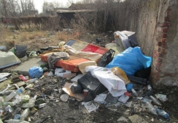 śmieci dzikie wysypisko
