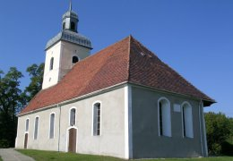 Die Kirche in Dluzek
