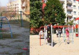 Kompleksowa modernizacja placu zabaw przy ul. Staffa