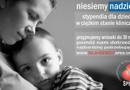 Program Pomocy Dzieciom stypendia dla dzieci w ciężkim stanie klinicznym
