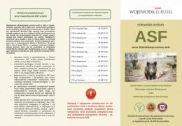 Informacje dotyczące ASF