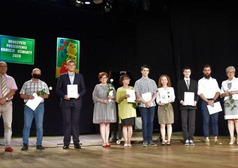 Wyróżnieni laureaci, finaliści konkursów i olimpiad oraz wybitni uczniowie szkół w gminie Lubsko