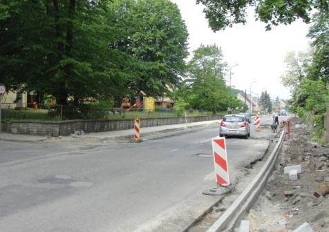 Przebudowa ul. Przemysłowej i ul. Sybiraków w Lubsku