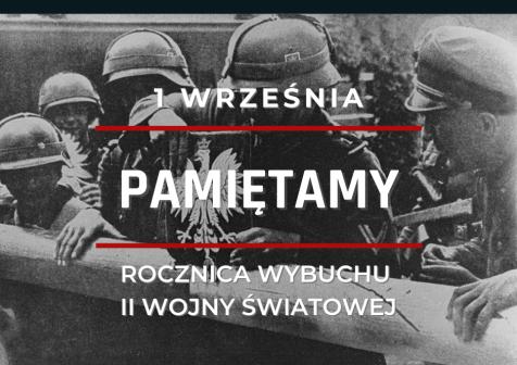 plakat rocznica wojny