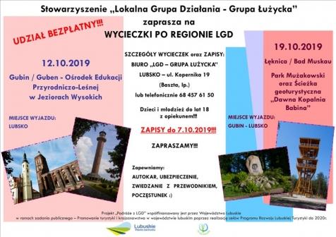 Wycieczki po regionie LGD
